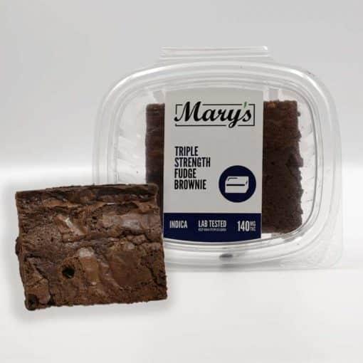Mary's Triple Strength Fudge 140mg