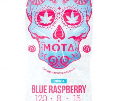 Mota Blue Raspberry Indica Jelly