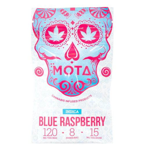 Mota Blue Raspberry Indica Jelly