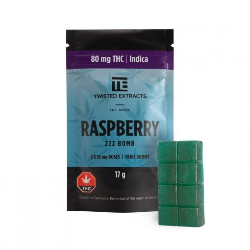 Twisted Extracts Blue Raspberry Jelly Bomb