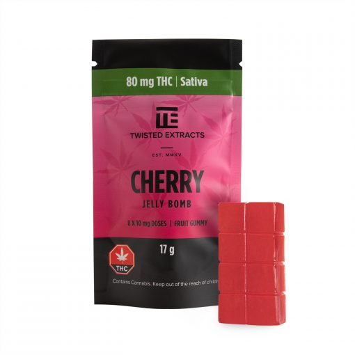 Twisted Extracts Cherry Jelly Bomb