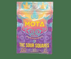 Mota Sour Squares 150mg