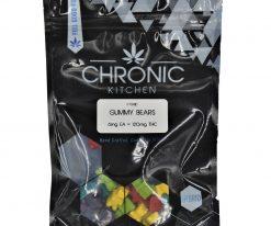 Chronic Kitchen THC Gummy Stars 120mg