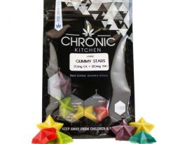 Chronic Kitchen THC Gummy Stars 120mg