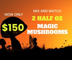Mix and Match 2 Half Oz Magic Mushrooms