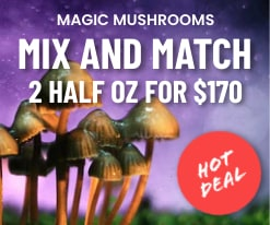 Mix and Match Mushrooms Deal Banner
