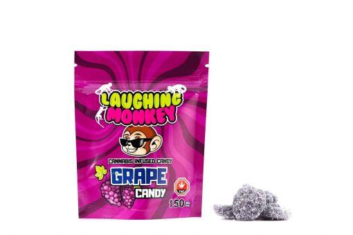 Laughing Monkey Grape Candy 150mg