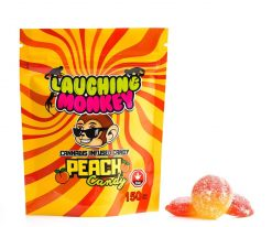 Laughing Monkey Peach Candy 150mg