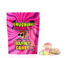Laughing Monkey Sour Key Candy 150mg