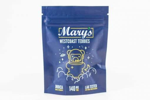Mary's Triple Strength Westcoast Teddies 140mg