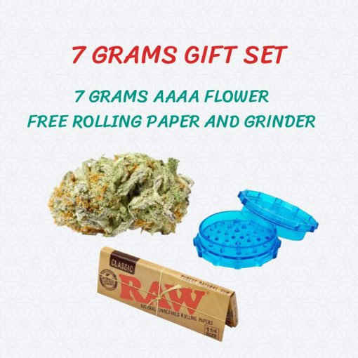 7 Grams of Weed Gift Set Banner