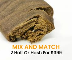 mix and match 2 half oz hash