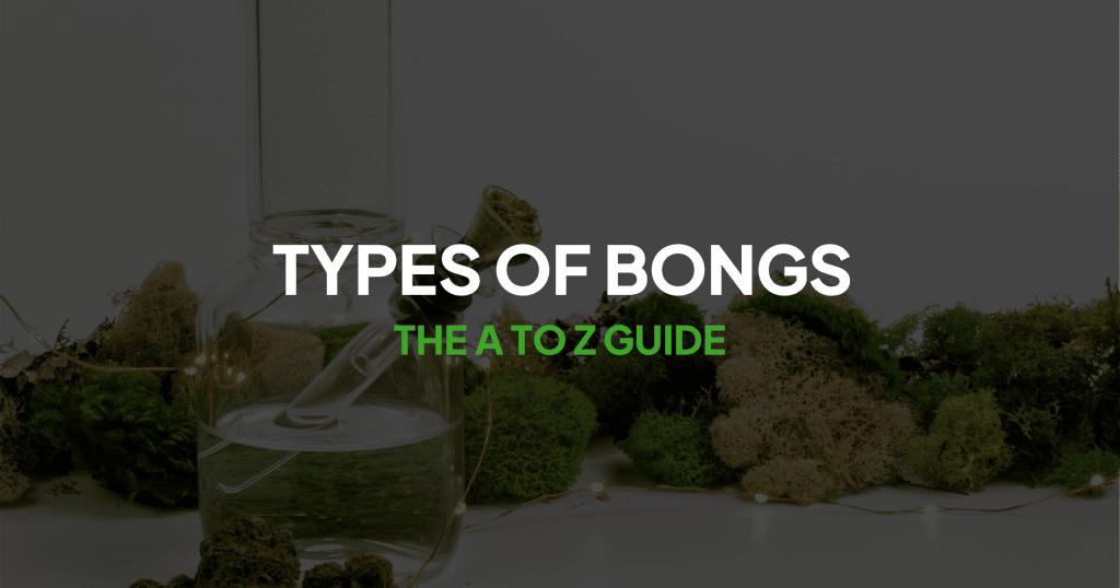 Types of Bongs Banner
