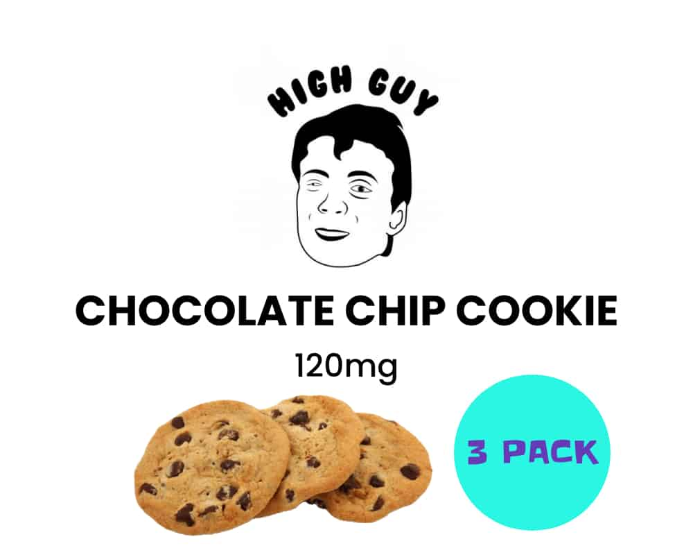 high guy chocolate chip cookie