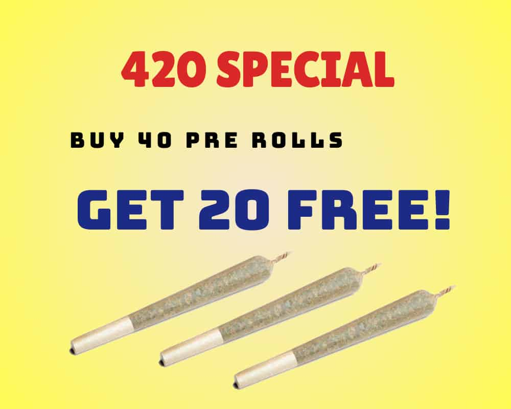 Pre Rolls 40 Get 20 Free