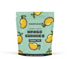PixiePlums Exotic Mango Gummies 500mg