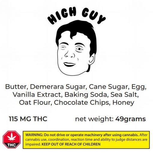 high guy cookie ingredients