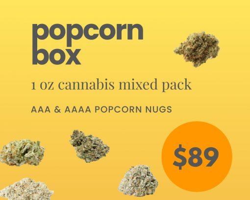 1oz Popcorn Box