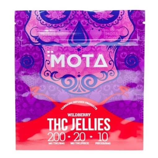 Mota THC Wildberry Jellies