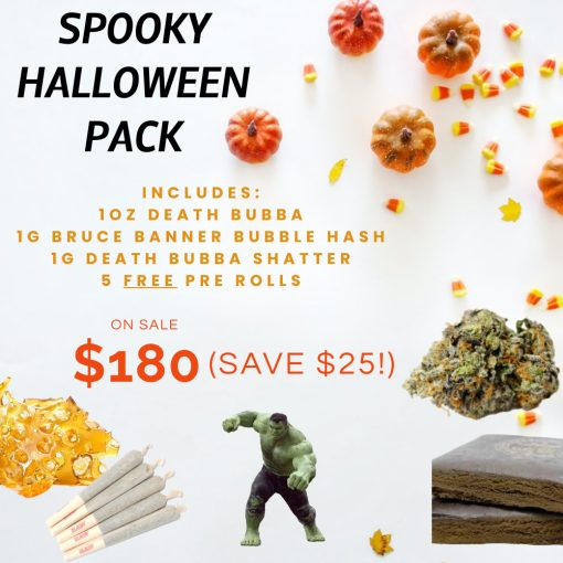 Spooky Halloween Cannabis Pack